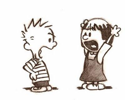 Calvin & Hobbes: Arguementation