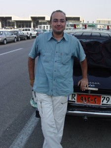 The only honest cabbie in Egypt. Find him if you can.